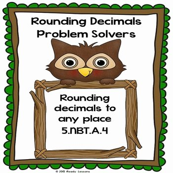 Rounding Decimals Worksheet 5th Grade Unique Rounding Decimals Worksheets Round Decimal 5th Grade Math