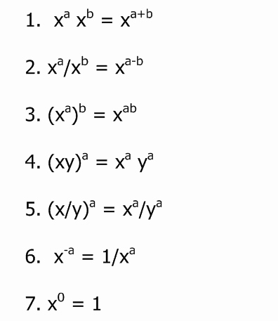 Rules Of Exponents Worksheet Pdf Best Of Questions Exponent Rules