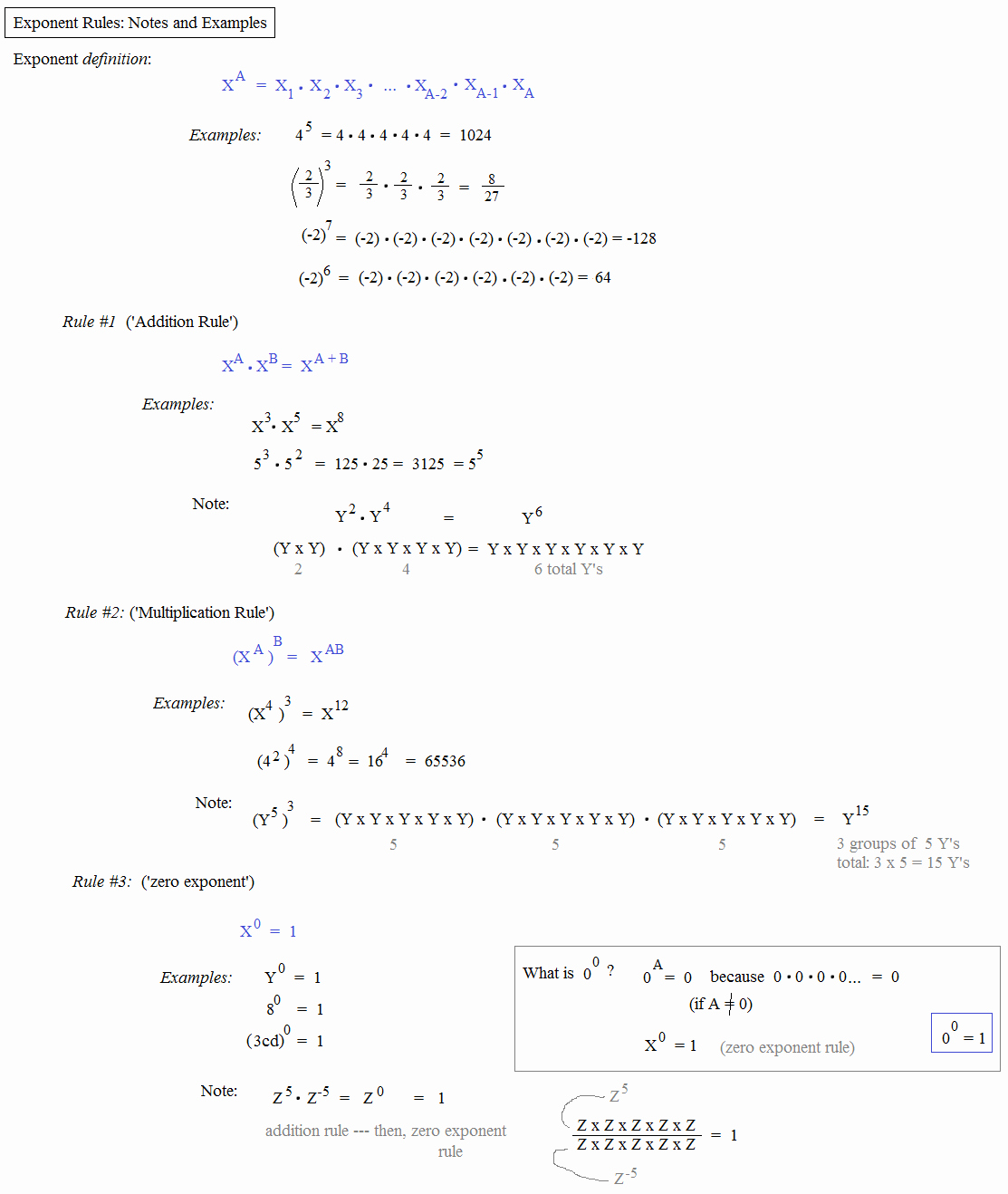 Rules Of Exponents Worksheet Pdf Fresh Math Plane Logarithms and Exponents I