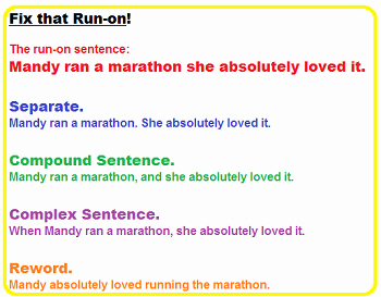 Run On Sentence Worksheet Pdf Awesome How to Identify A Run On Sentence