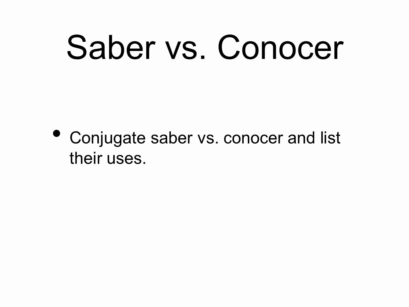 Saber Vs Conocer Worksheet Luxury 13 Best Of Ser Vs Estar Printable Worksheets