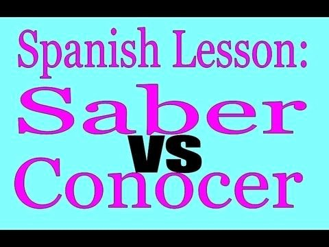 Saber Vs Conocer Worksheet Luxury 26 Best Images About Saber Y Conocer On Pinterest