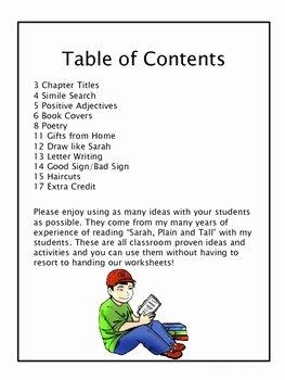 Sarah Plain and Tall Worksheet Beautiful Sarah Plain and Tall 10 Things to Do without Worksheets