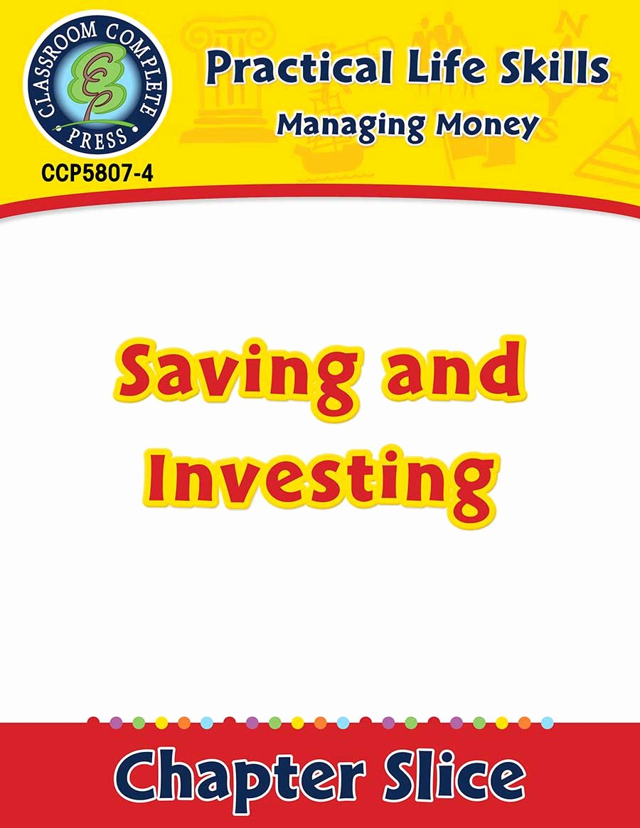 Saving and Investing Worksheet Luxury Managing Money Saving & Investing Gr 9 12 Grades 9 to