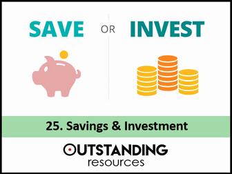 Saving and Investing Worksheet New Economics Banking Finance & Money Bundle 7 Lessons by
