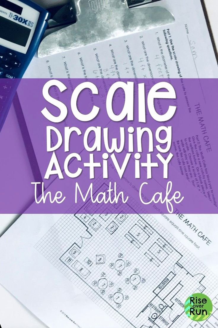 Scale Drawings Worksheet 7th Grade Awesome 7 G A 1 Scale Drawings Activity 7th Grade Math
