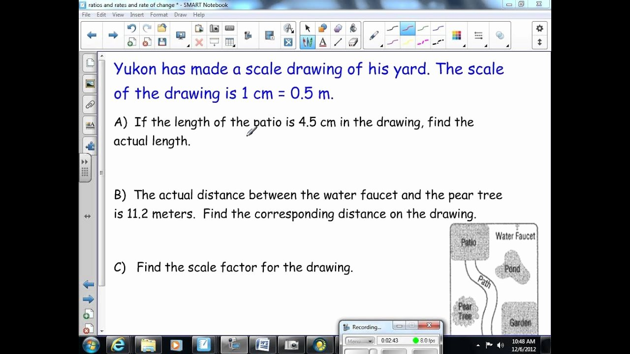 Scale Drawings Worksheet 7th Grade Beautiful Scale Factor and Scale Drawings 8th Grade Math