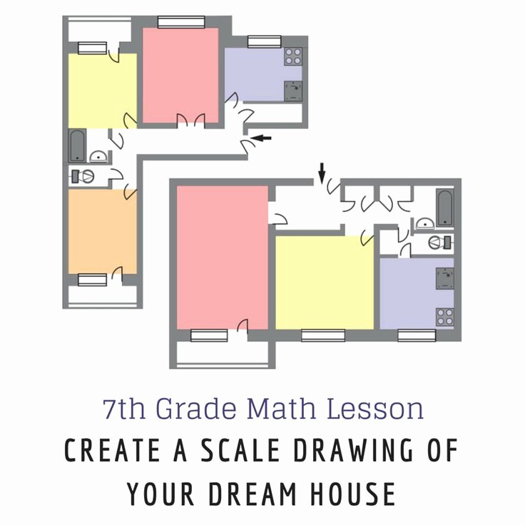 Scale Drawings Worksheet 7th Grade Best Of 7th Grade Math Lesson Create A Scale Drawing Of Your
