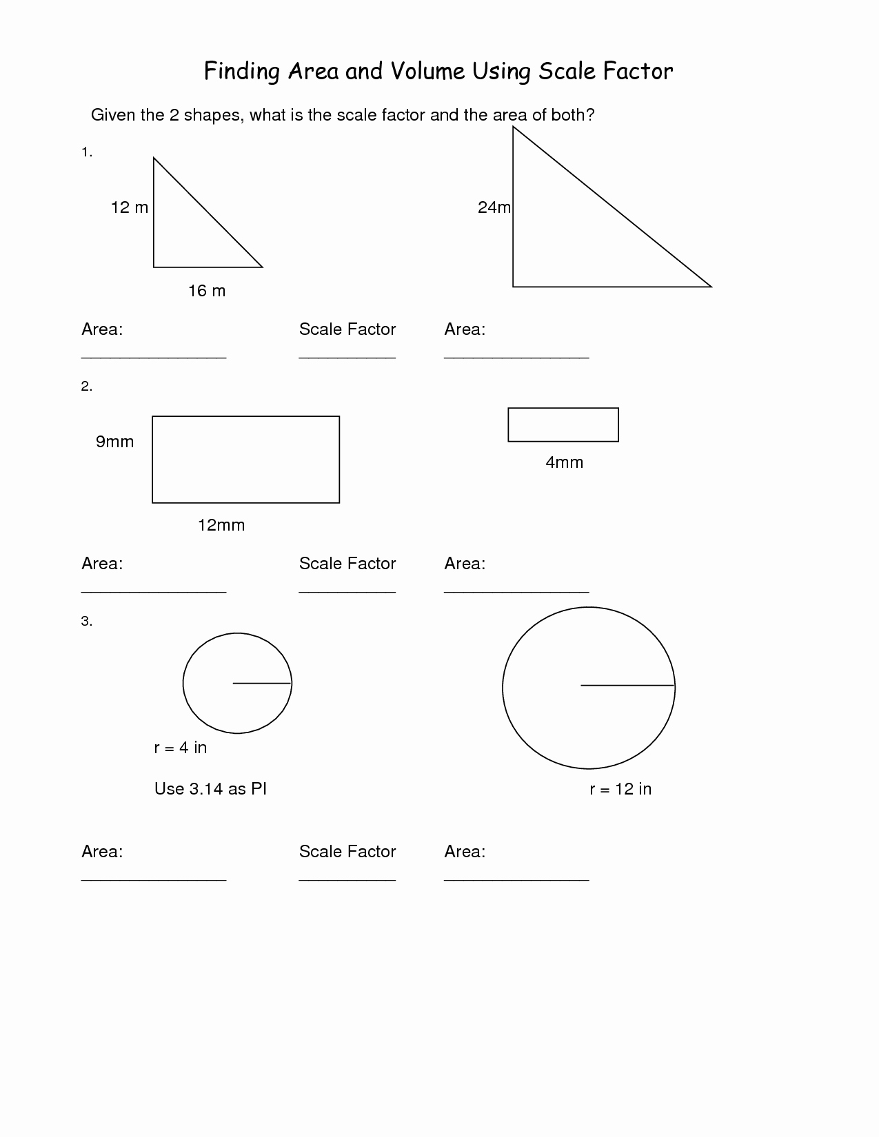 Scale Drawings Worksheet 7th Grade Elegant Scale Factorheets Checksheet 7th Gradeheets Finding