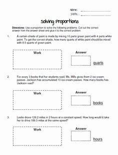 Scale Drawings Worksheet 7th Grade Fresh 1000 Images About Ratios and Proportions On Pinterest