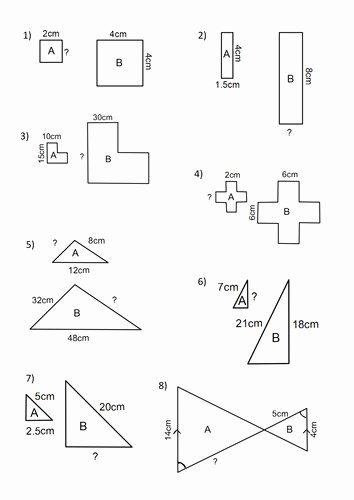 Scale Factor Worksheet 7th Grade Awesome Factor Worksheets