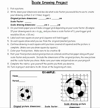 Scale Factor Worksheet 7th Grade Beautiful 7th Grade Geometry Scale Factors and Similar Figures