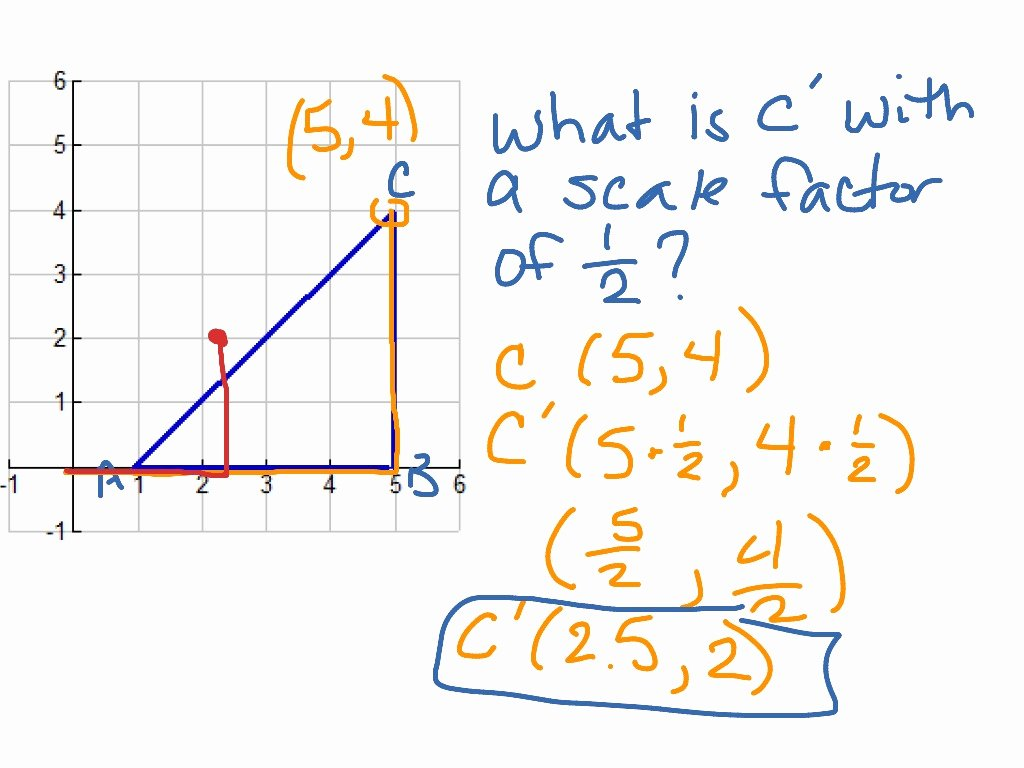 Scale Factor Worksheet 7th Grade Best Of Scale Factor and Dilation