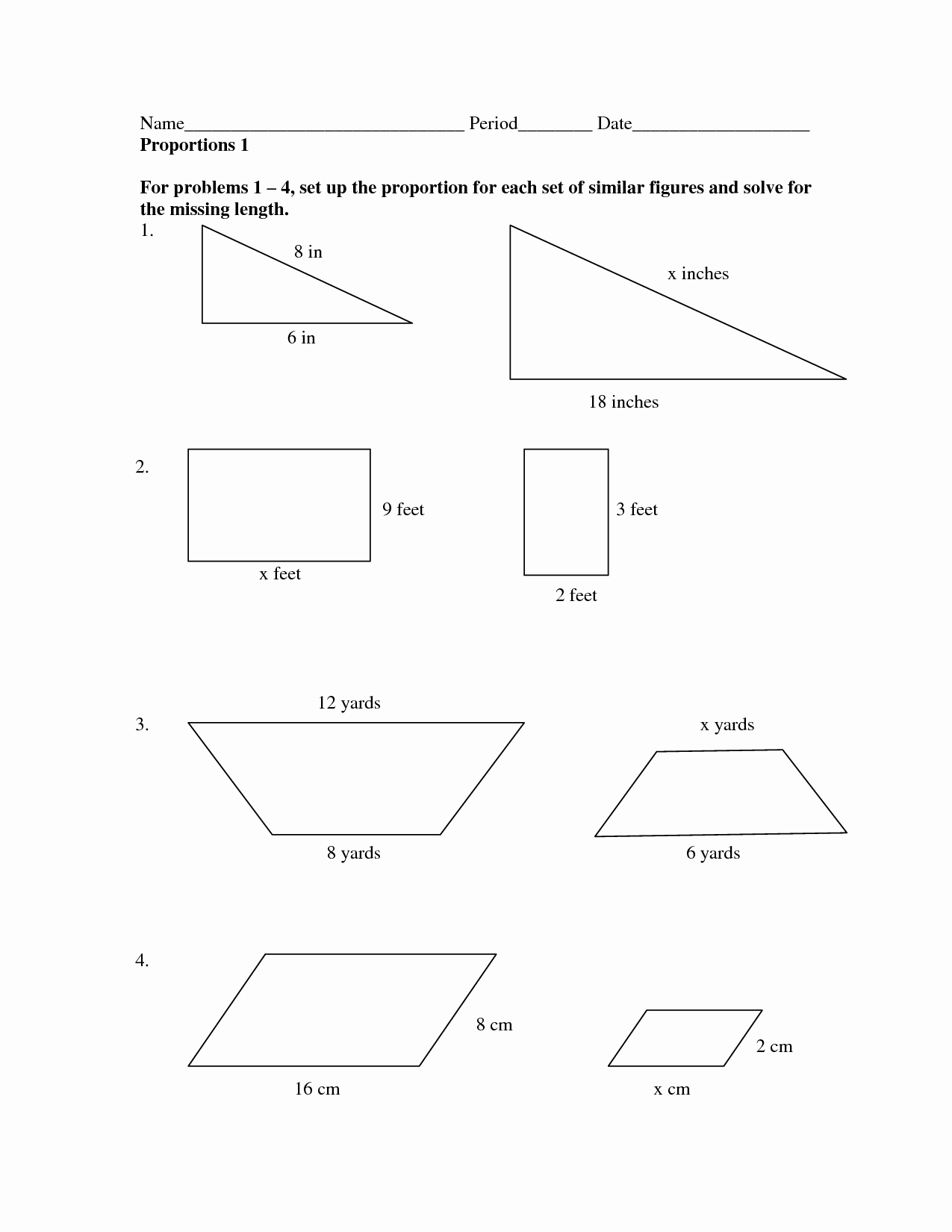 Scale Factor Worksheet 7th Grade Lovely 8 Best Of Math Worksheets with Scale Factor Scale