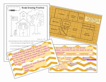 Scale Factor Worksheet 7th Grade Lovely Scale Drawing Lesson and Worksheet by Mrs Satt
