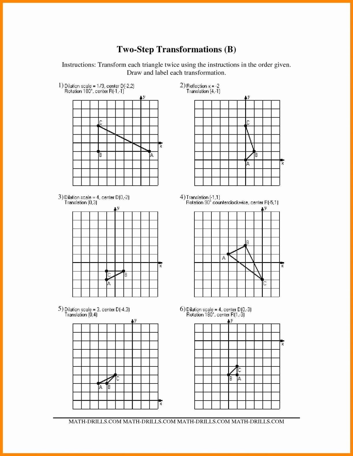 Scale Factor Worksheet with Answers Luxury Dilation and Scale Factor Worksheet Answers