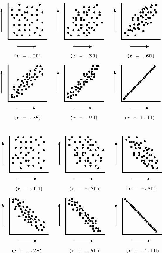 Scatter Plot Correlation Worksheet Luxury Inferential Statistics