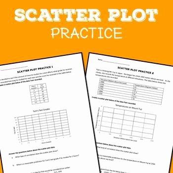 Scatter Plot Practice Worksheet Unique 17 Best Ideas About Scatter Plot Worksheet On Pinterest