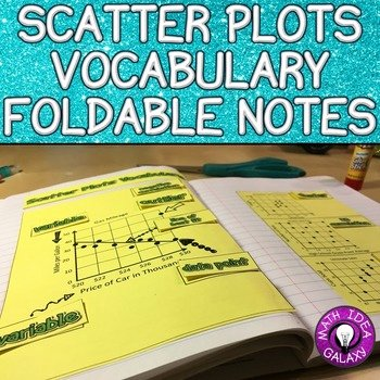 Scatter Plot Worksheet 8th Grade Awesome Scatter Plots Foldable for 8th Grade Math Interactive