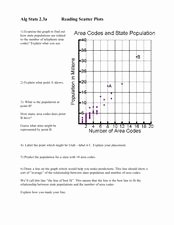 Scatter Plot Worksheet 8th Grade Unique Reading Scatter Plots Worksheet for 6th 8th Grade