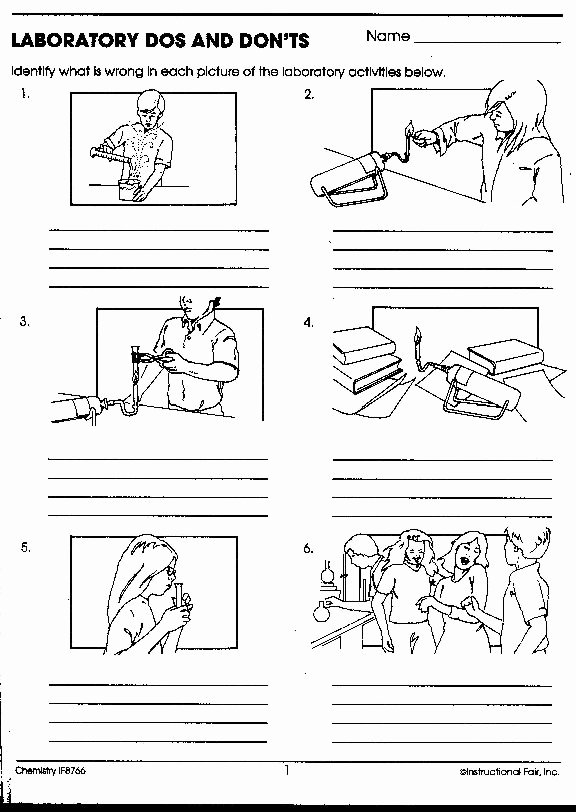 Science Lab Safety Worksheet Fresh 130 Best Images About Safety In the Science Lab On