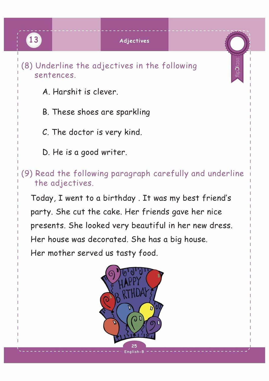 Science Worksheet for 1st Grade Beautiful Geniuskids Worksheets for Class 1 1st Grade