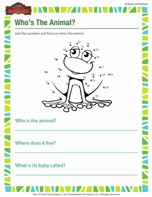 Science Worksheet for 1st Grade Inspirational who S the Animal 1st Grade Line Science Printables sod