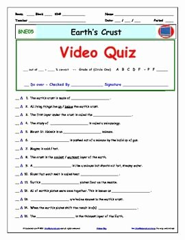 Science World Worksheet Answers Beautiful Differentiated Video Worksheet Quiz & Ans for Bill Nye