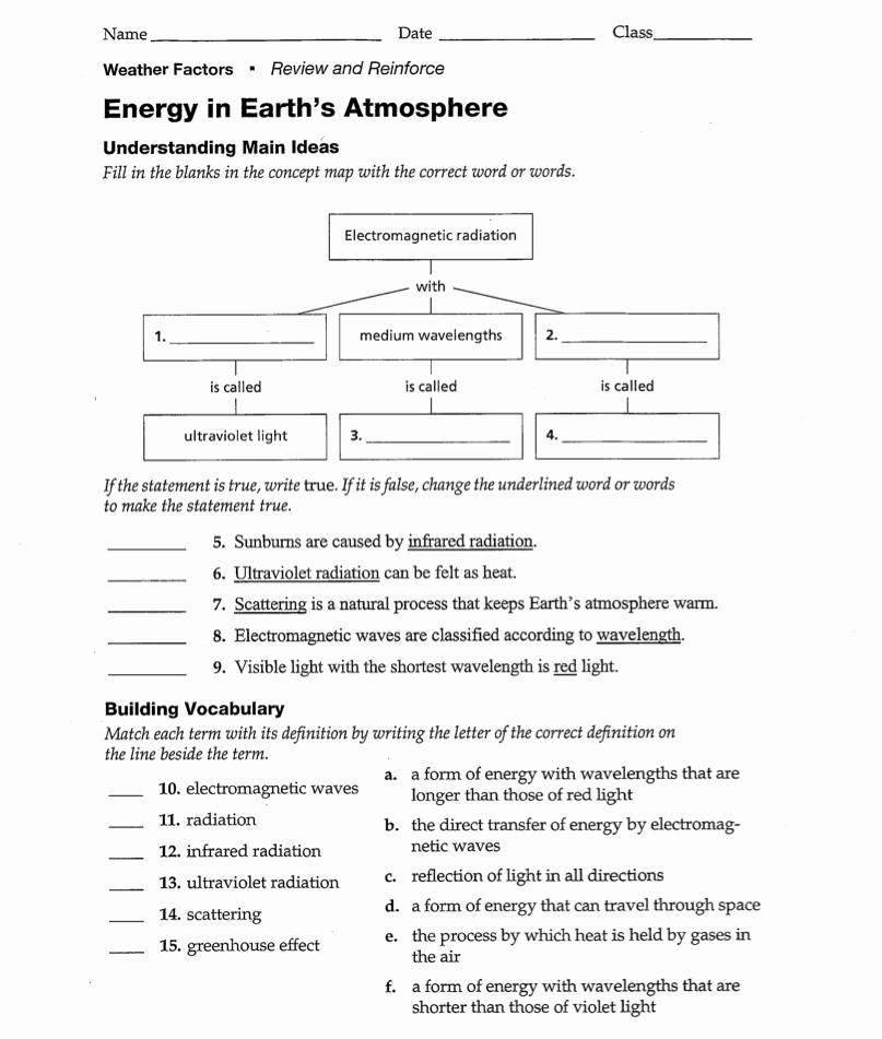 Science World Worksheet Answers Elegant 5 Best Of Earth Science Rocks Worksheet Answers