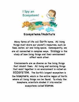 Science World Worksheet Answers Elegant Ecosystems Stem Earth Science Internet Worksheets W