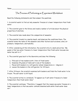 Scientific Method Review Worksheet Answers Best Of Scientific Method Review Worksheet