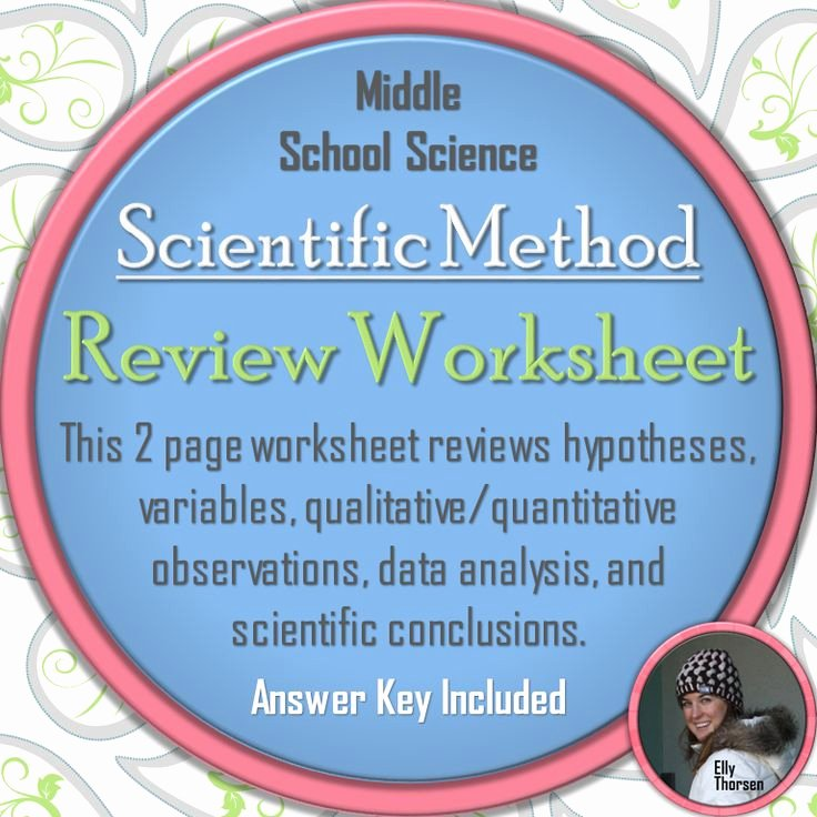 Scientific Method Review Worksheet Answers Fresh 310 Best Images About Elly Thorsen S Middle School Science