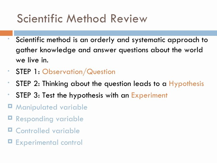 Scientific Method Review Worksheet Answers Unique Lecture 1 What is Chemistry Scientific Method Review