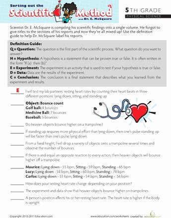 Scientific Method Review Worksheet Elegant 216 Best Images About Scientific Method On Pinterest