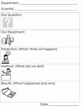 Scientific Method Steps Worksheet Awesome Scientific Method Worksheet by Honeybelles