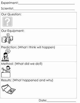 Scientific Method Steps Worksheet Awesome Scientific Method Worksheet by Honeybelles