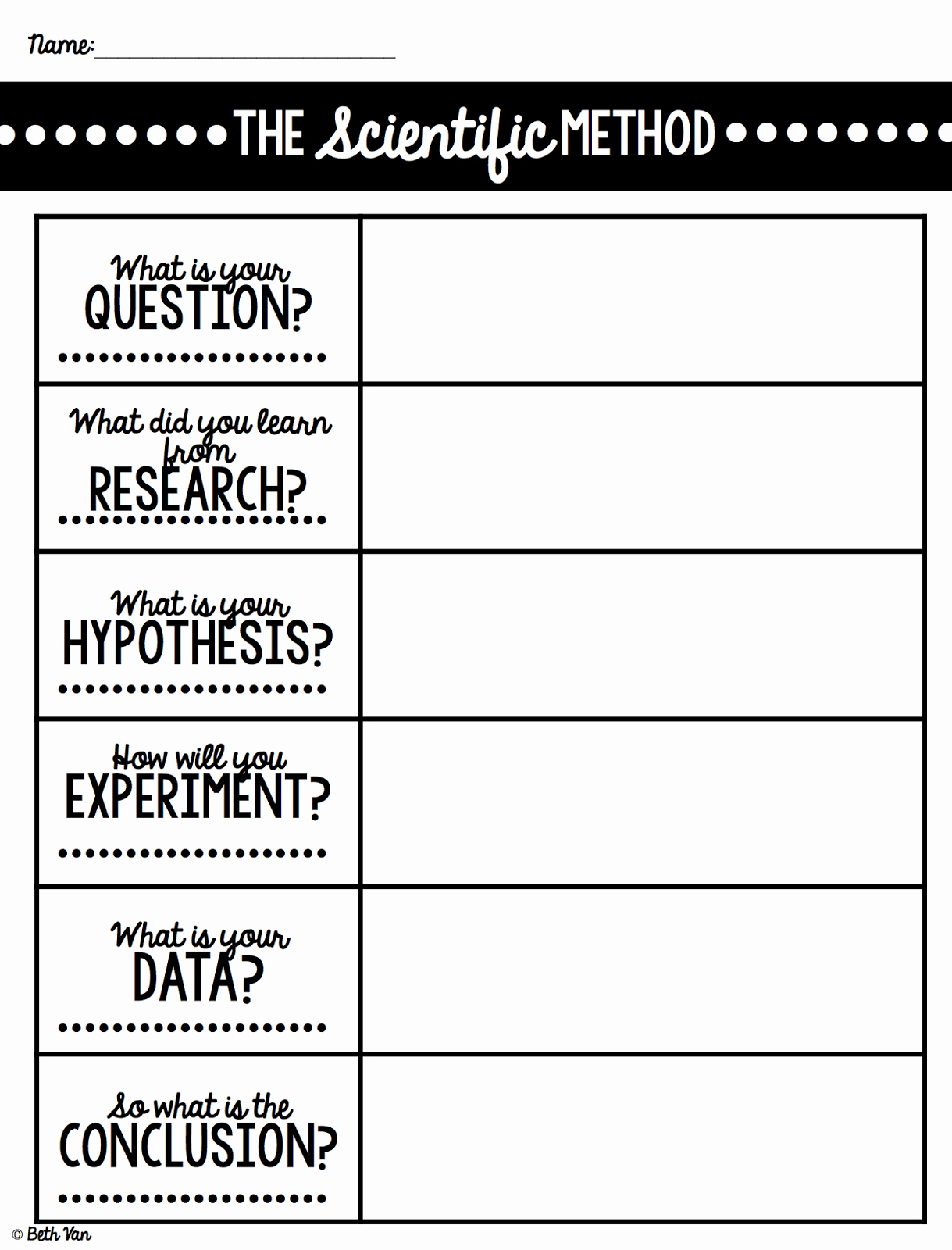 Scientific Method Steps Worksheet Beautiful theteachyteacher Can You Walk Water Scientific