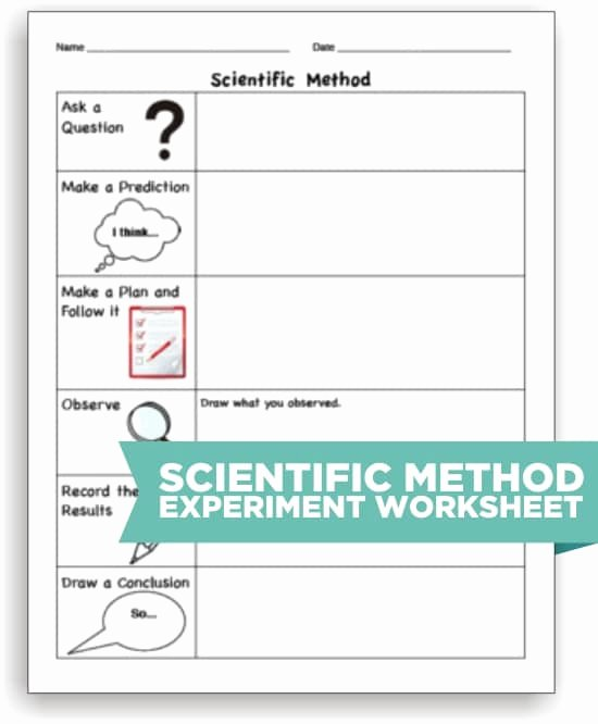 Scientific Method Steps Worksheet Inspirational 10 Scientific Method tools to Make Science Easier Teach