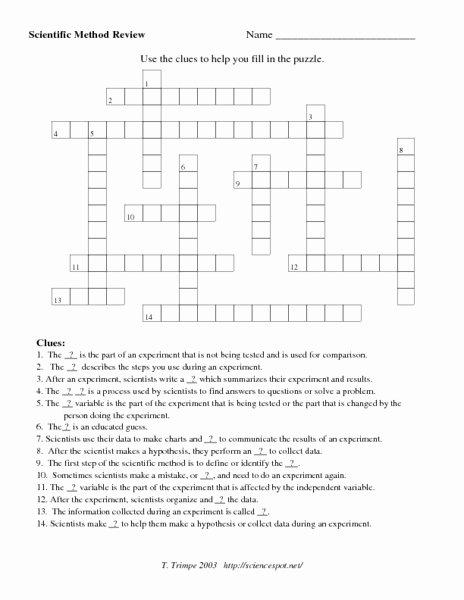 Scientific Method Story Worksheet Answers Unique Scientific Method Review Worksheet for 7th 8th Grade