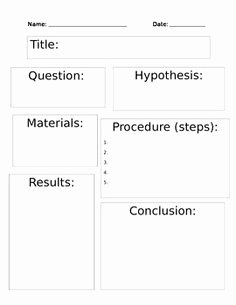 Scientific Method Worksheet 4th Grade Awesome A Simple Introduction to the Scientific Method