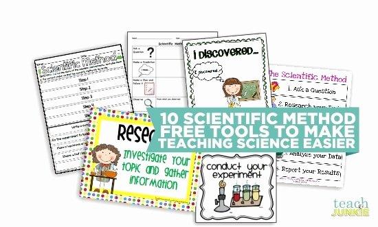 Scientific Method Worksheet 4th Grade Best Of 10 Scientific Method tools to Make Science Easier Teach