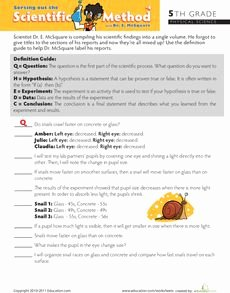 Scientific Method Worksheet 5th Grade Lovely 17 Best Images About 5th Grade Science On Pinterest