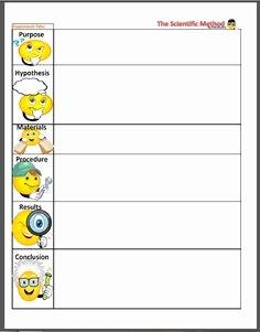 Scientific Method Worksheet Elementary Awesome Scientific Method Worksheet Homeschool Ideas