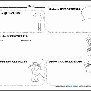 Scientific Method Worksheet Elementary Inspirational Free Scientific Method Printable Worksheet