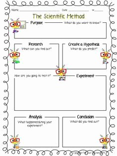 Scientific Method Worksheet Elementary Inspirational Printable Science Observation Sheet