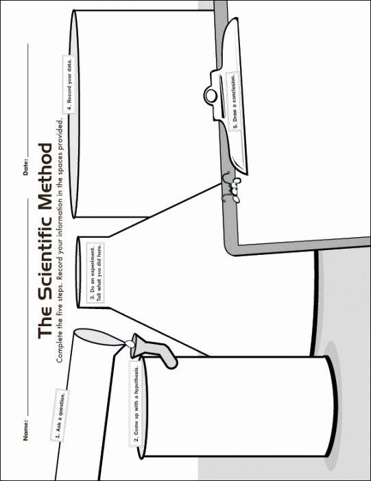 Scientific Method Worksheet Elementary Inspirational the Scientific Method Scientific Method