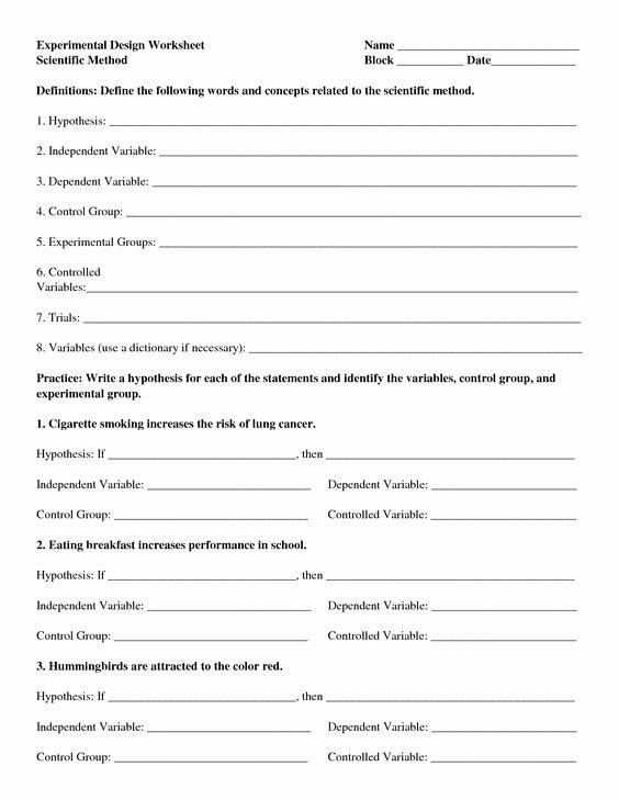 Scientific Method Worksheet Elementary Lovely Designing A Scientific Method Worksheet Google Search