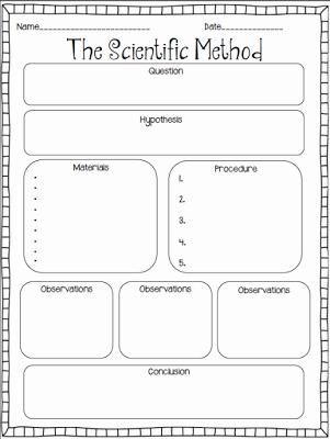 Scientific Method Worksheet Elementary Luxury Simplifying the Scientific Process