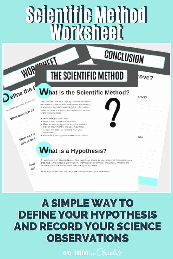 Scientific Method Worksheet High School Inspirational Scientific Method Worksheet Recording Your Science