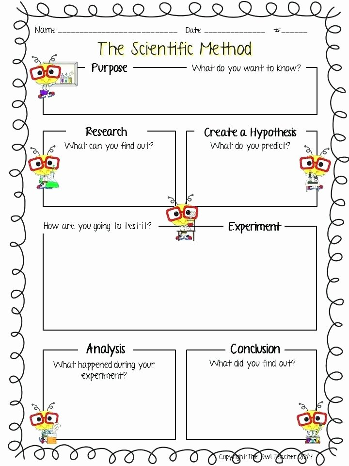 Scientific Method Worksheet High School New Scientific Method Activity High School – Naturyub